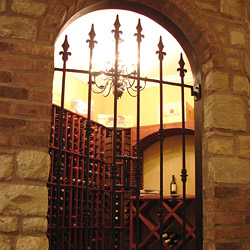 Wine Cellar Door Gallery - Wrought Iron Doors from San Marcos Iron
