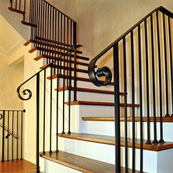 French Traditional Baluster Railing