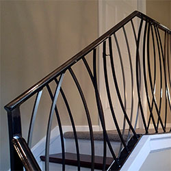 Elegant Iron Studios | Custom Ornamental Metalwork | Modern Railing ...